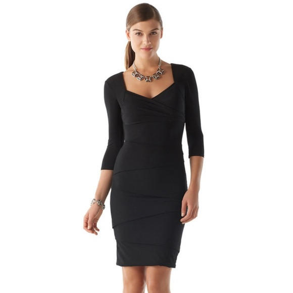 20eaa4649ba White House Black Market Instantly Slimming Dress.  M 5a5b90f7739d481719243ea2